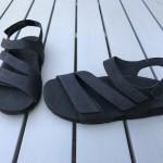 Zlippo sandaal City zwart vet leer 1