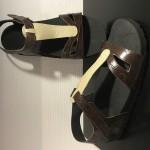 Zlippo sandaal dreampuls bruin:beige